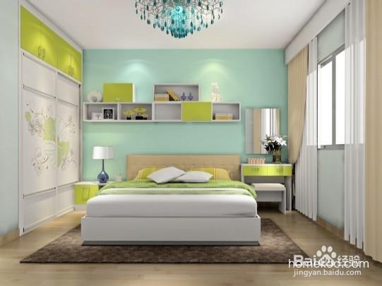 5款轻松简约的卧房设计效果图