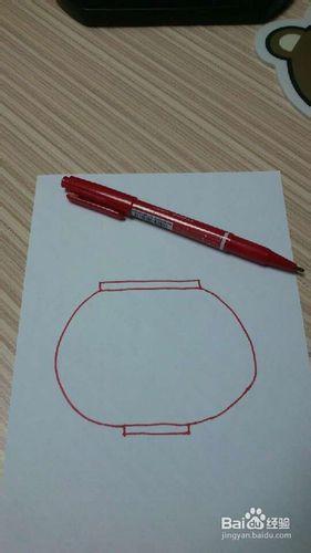 红灯笼怎么画-儿童简笔画