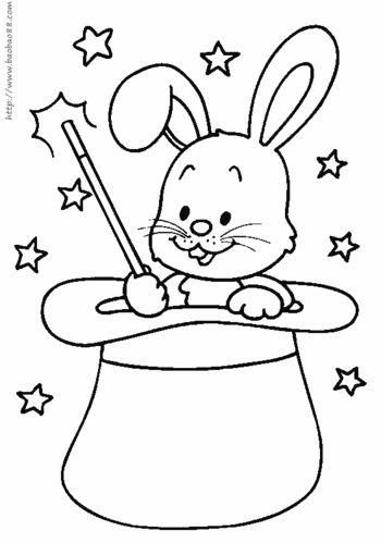 兔子简笔画集合 气质小兔子