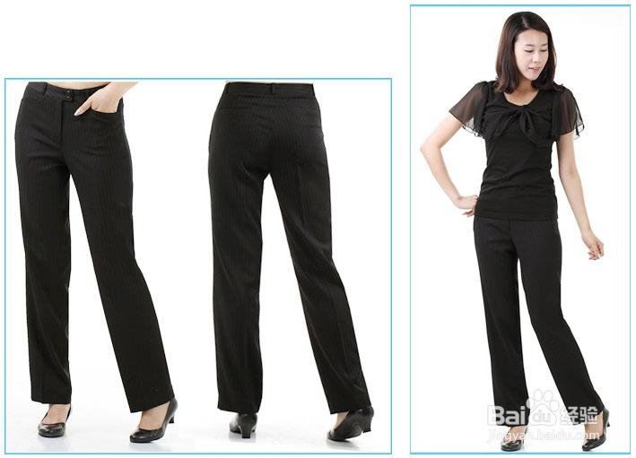 今年秋季最流行的女裤款式是什么样子的呢图片