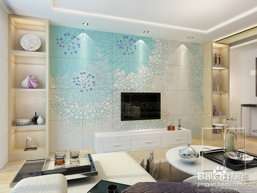 2013年最新客厅沙发背景墙效果大全