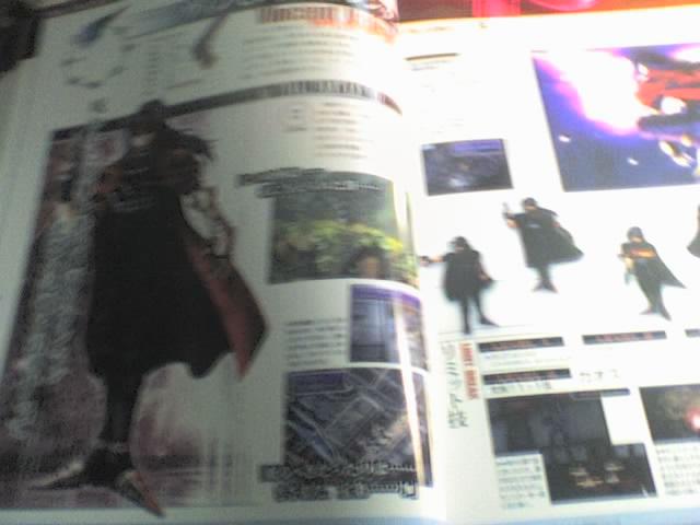 最终幻想画册 受机拍摄模糊慎入 最终幻想吧 百度贴吧