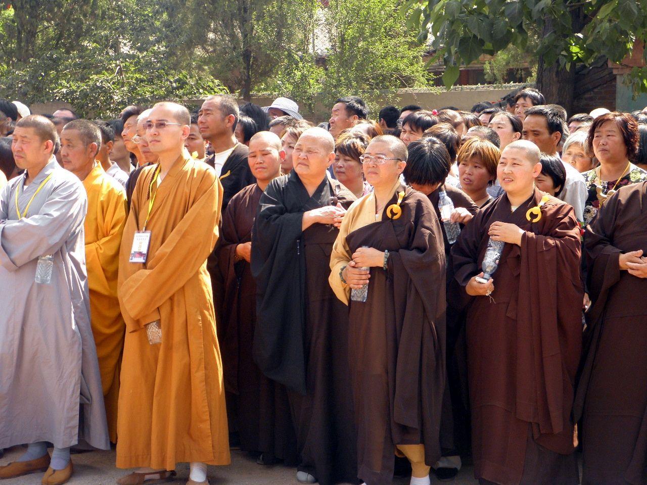 河北省南和县白雀庵观音殿奠基仪式今日隆重举行图片