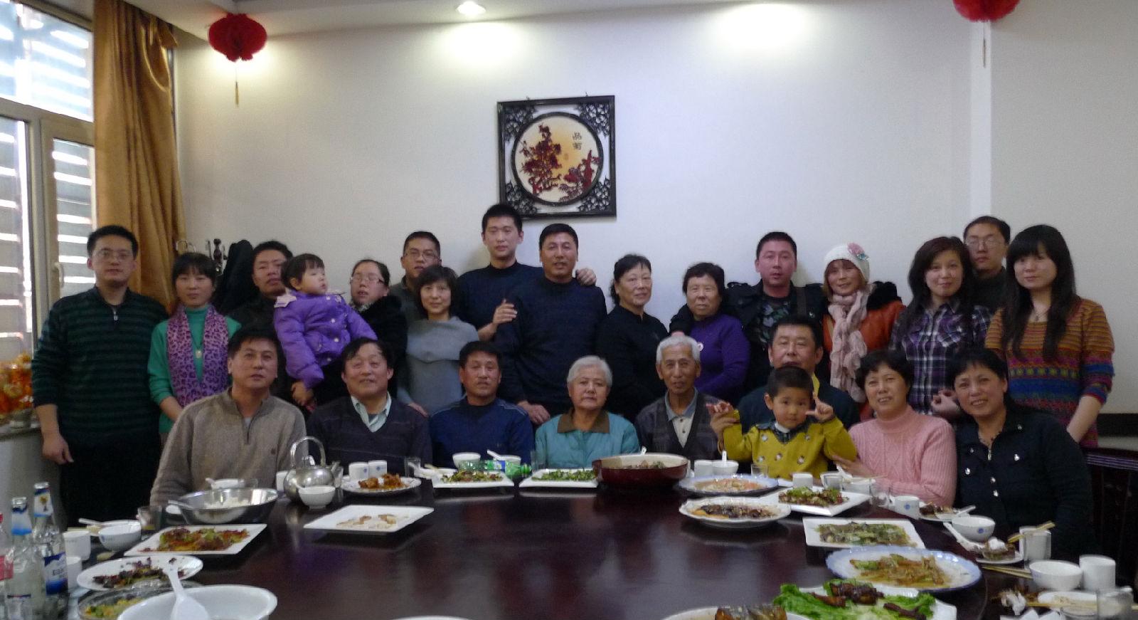 春节柳河大团圆