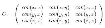 协方差矩阵的定义及其计算公式
