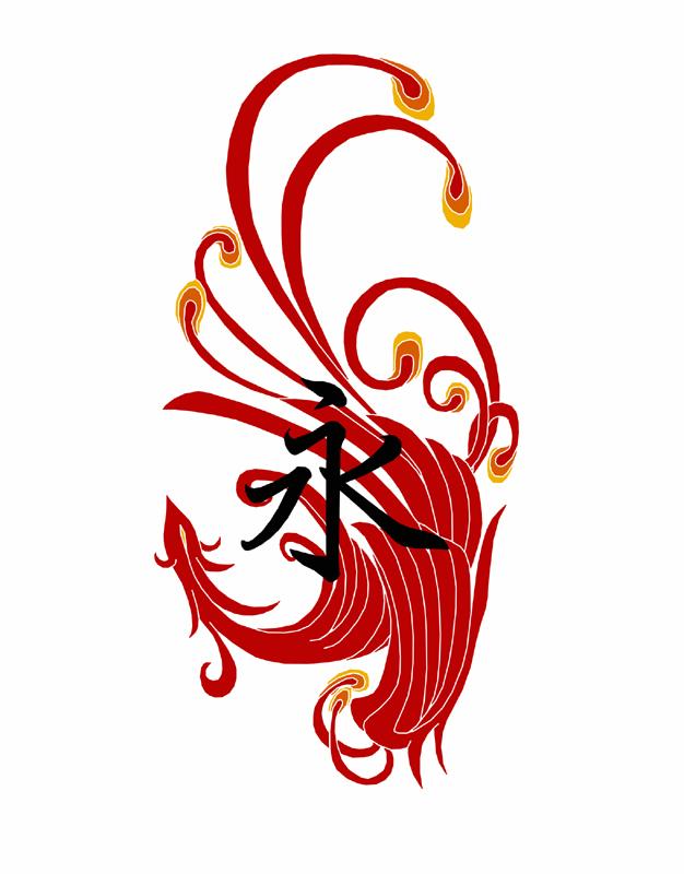 凤图腾纹身#天卓艺刺青#王伟刺