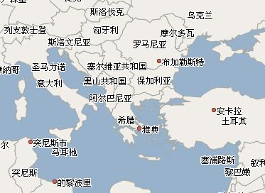 科索沃地图