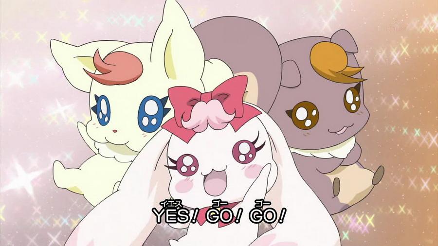 【哇咔咔】yes!光之美少女5gogo!的图图!