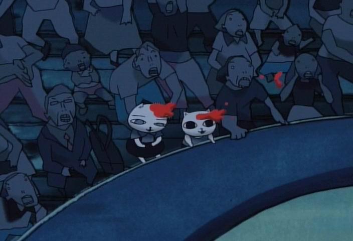 o﹏暗夜の圆舞曲﹏o 漫画 天真可爱与残酷暴力之超现实作品 暗夜协奏图片
