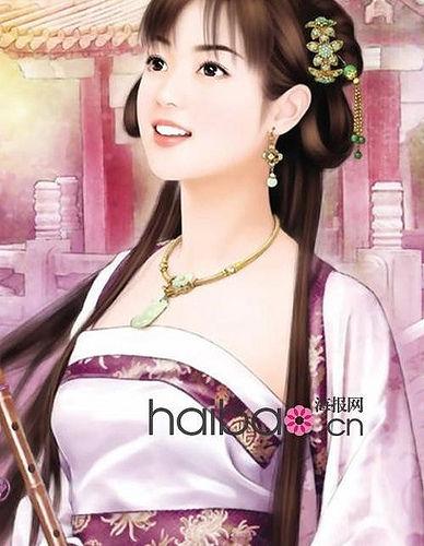 在历代美女佳人中 唐朝杨贵妃具有和天秤座相类似的