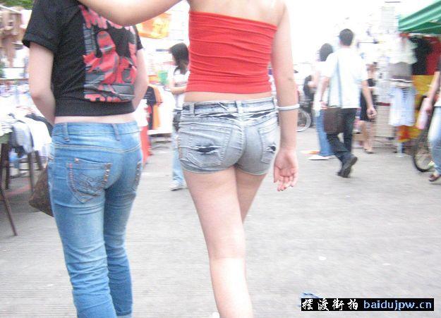 短裤美女百度空间美臀图库拍美臀美臀少女