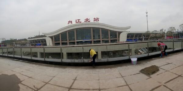 火车站交通设施