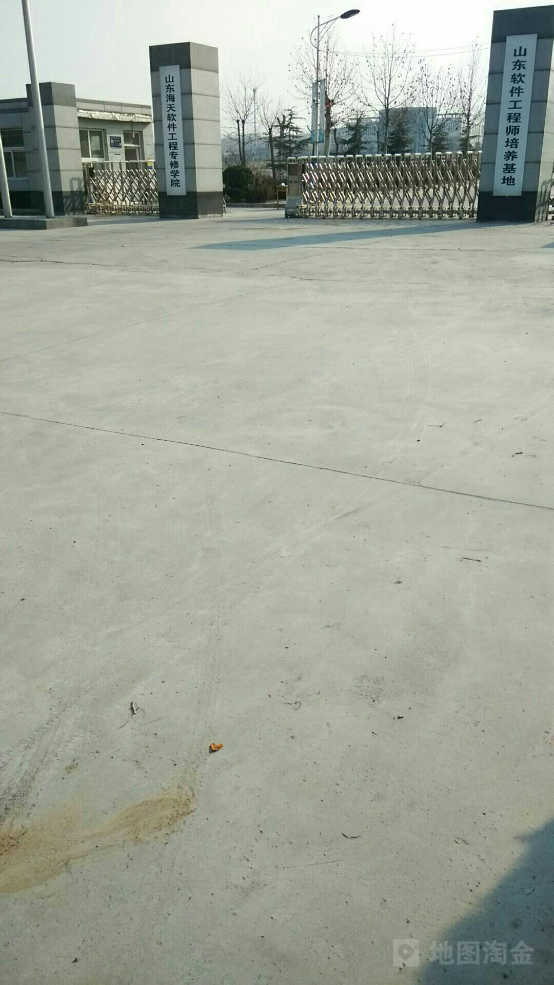 山东海天软件工程专修学院_济南_百度地图