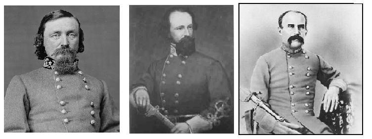hill)的第三大团中的少将乔治•皮克特(george pickett), 准将