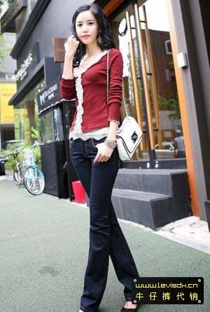 最强牛仔裤美女集合 街拍牛仔裤