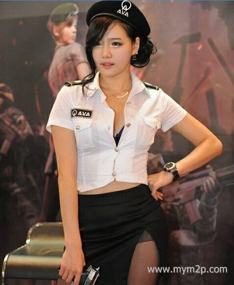 韩国顶级美女性感制服cosplay