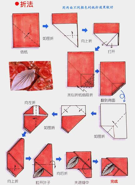 Envelope folding instructions how to make an easy origami envelope - Envelope Folding Instructions How To Make An Easy Origami Envelope 13