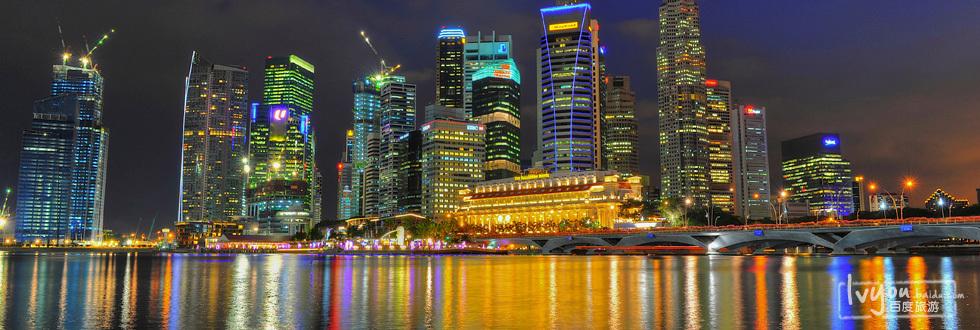 新加坡河,看夜景