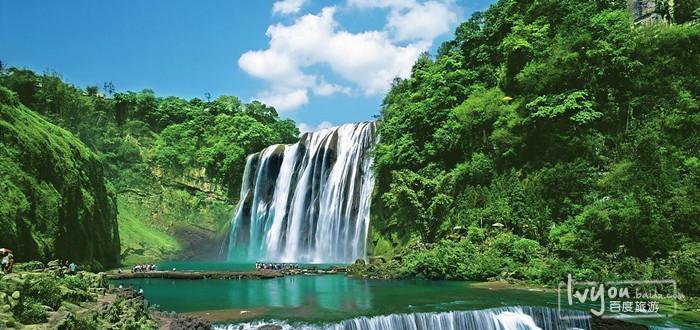 黄果树瀑布 黄果树瀑布旅游攻略 百度旅游 高清图片
