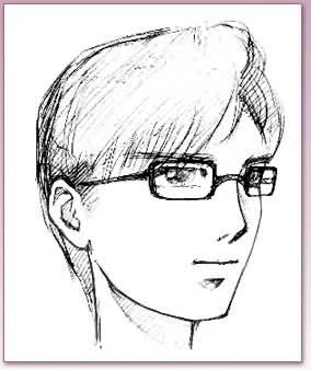 动画人物侧面图片-卡通人物眼睛的绘画方法和技巧