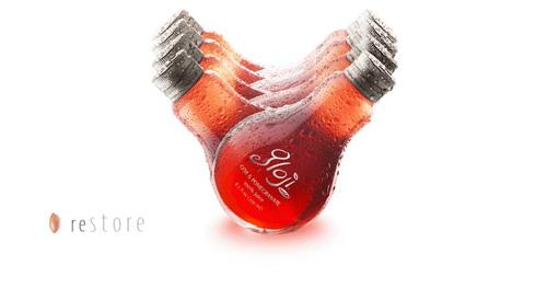 燈泡飲料 - イチゴ熊 - ⑤
