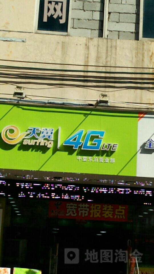天翼4G中堂东泊营业部
