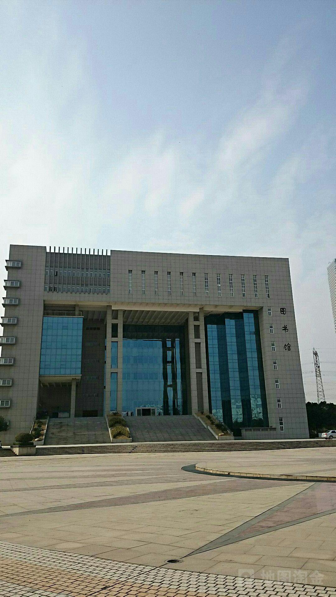 江西现代职业技术学院图书馆图片