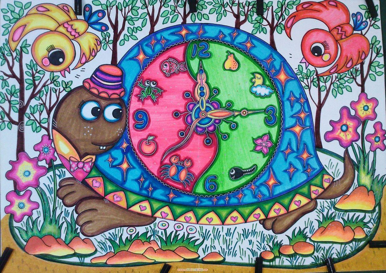 环保地球卡通儿童画 美丽的地球儿童画 卡通儿童画图片