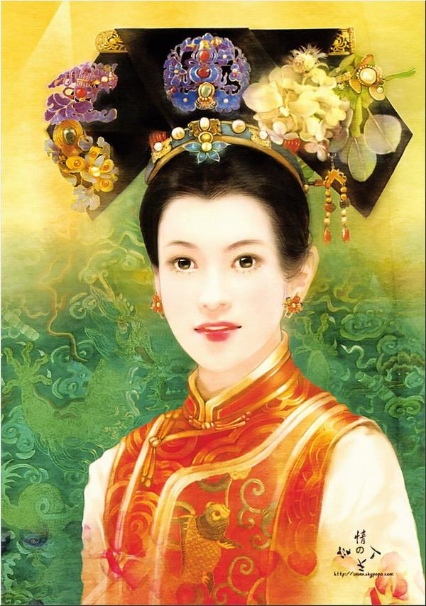 慈禧名为皇太后,实为一代女皇,她所处地位与清代的皇太后,皇后都不同.图片