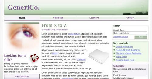 DIV+CSS实例教程