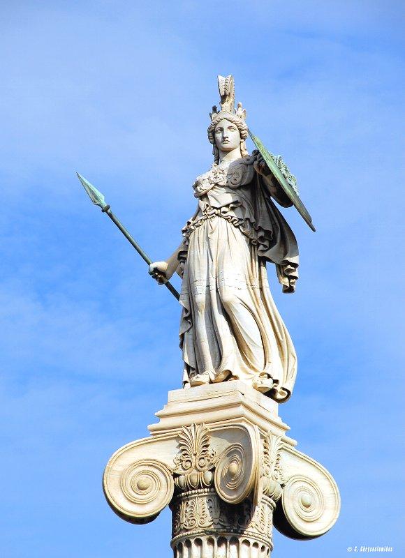 【照片】转 雅典娜女神像