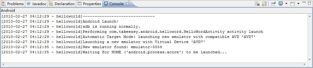 《配置基于MyEclipse 8的Android 2.1开发环境(详细)以及Hello World》