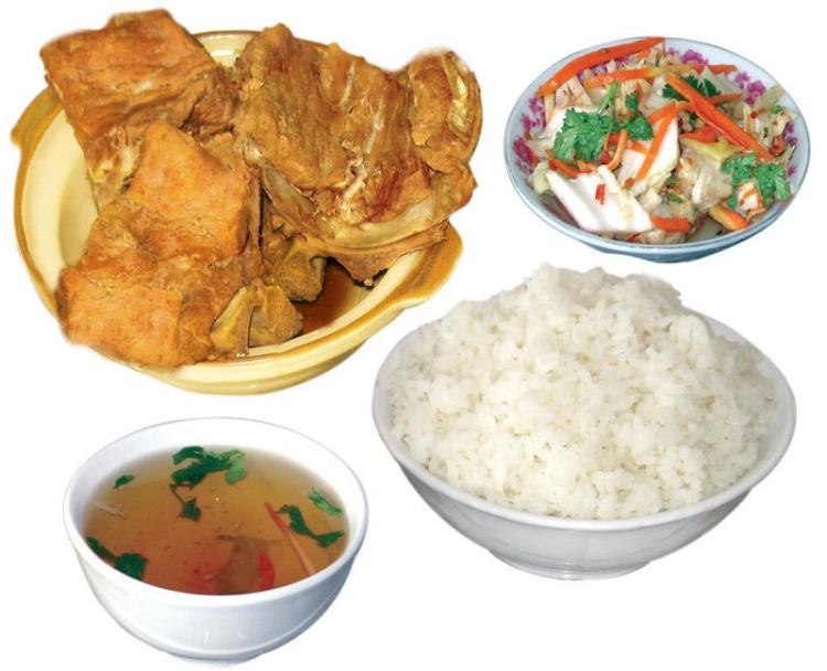 秘骨香排骨米饭(果园路店)