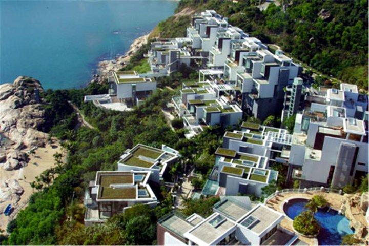 深圳小梅沙奢华农村海景多久装修建好别墅别墅图片