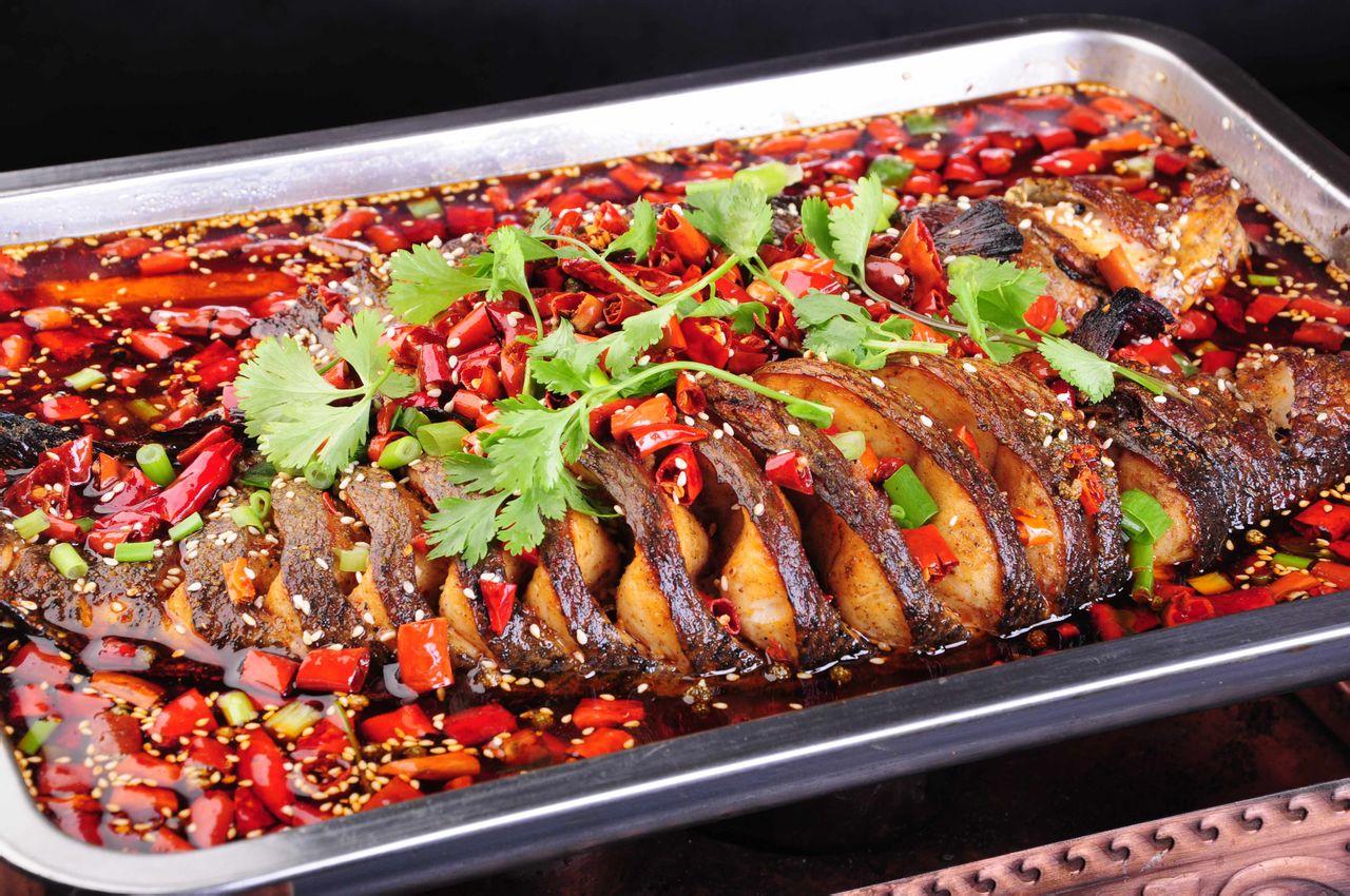 诚心菜馆蜀国烤鱼