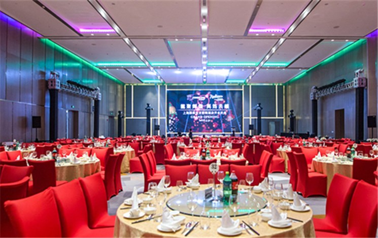 上海国展宝龙丽筠酒店停车场