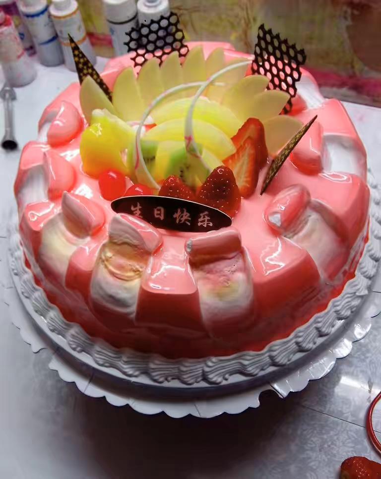 鲜洁美蛋糕