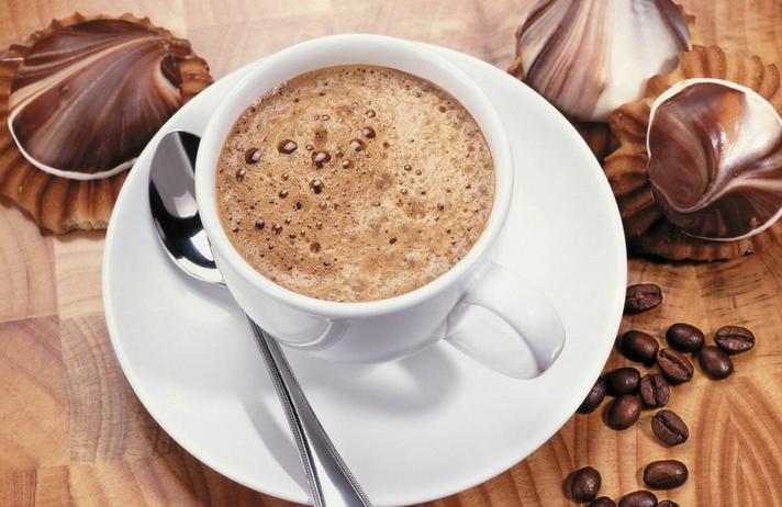 冰拿铁咖啡意式特浓咖啡哥伦比亚咖啡焦糖玛奇朵巴西咖啡拿铁焦糖冰