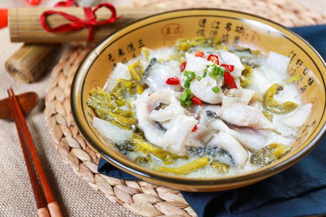 白雪酸菜鱼美食简单美食的如何v白雪图片
