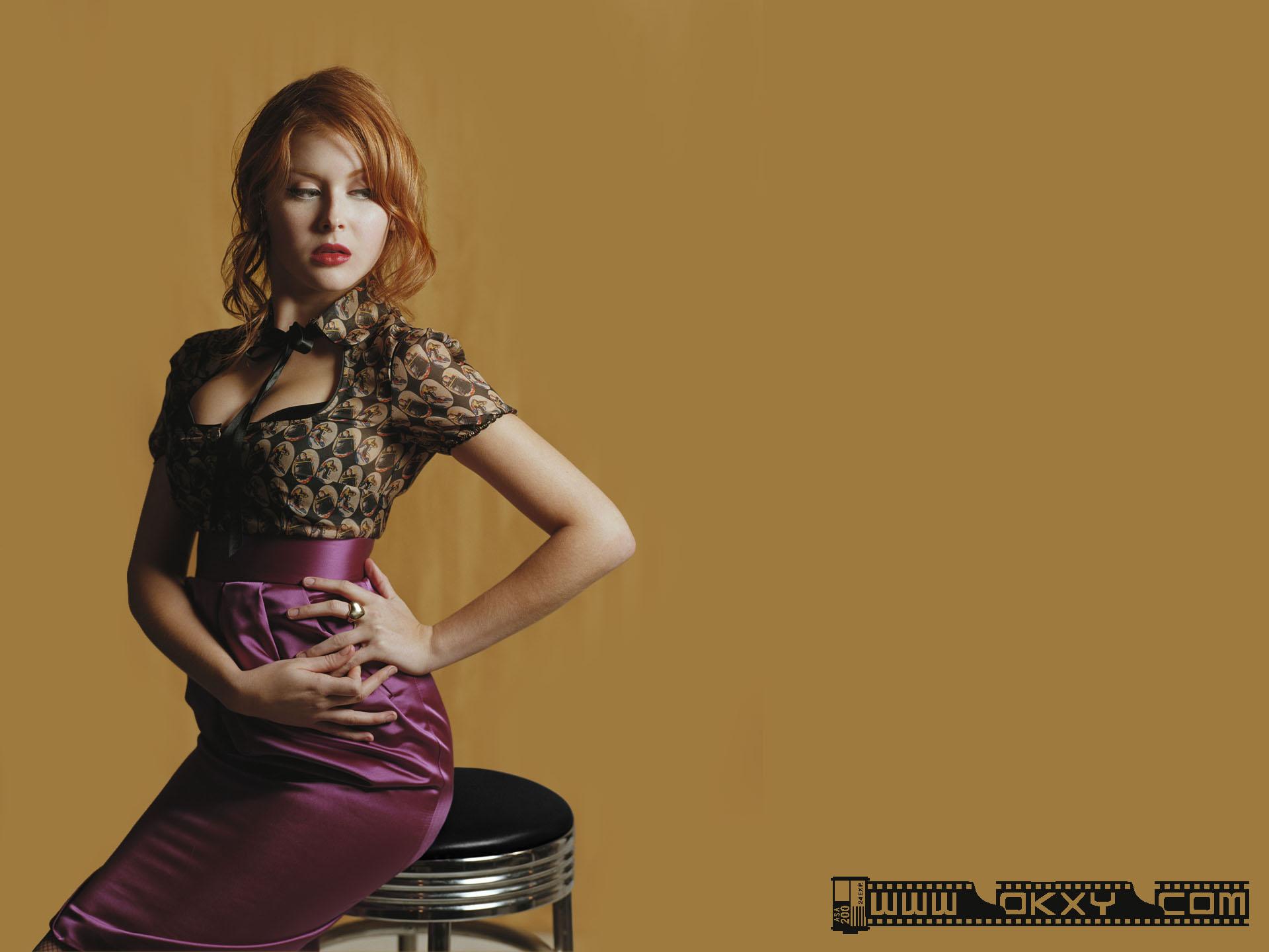 欧美超级名模美女桌面壁纸