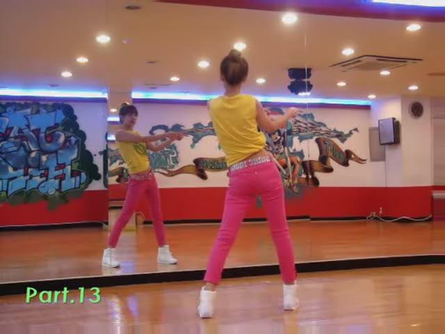 韩国舞蹈教程:少女时代