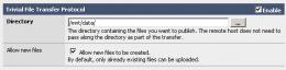 FreeNAS WEBGUI TFTP的设置