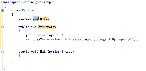 VS2010中CodeSnippet【代码段】应用与创建 - 快乐小屋 - 快乐小屋