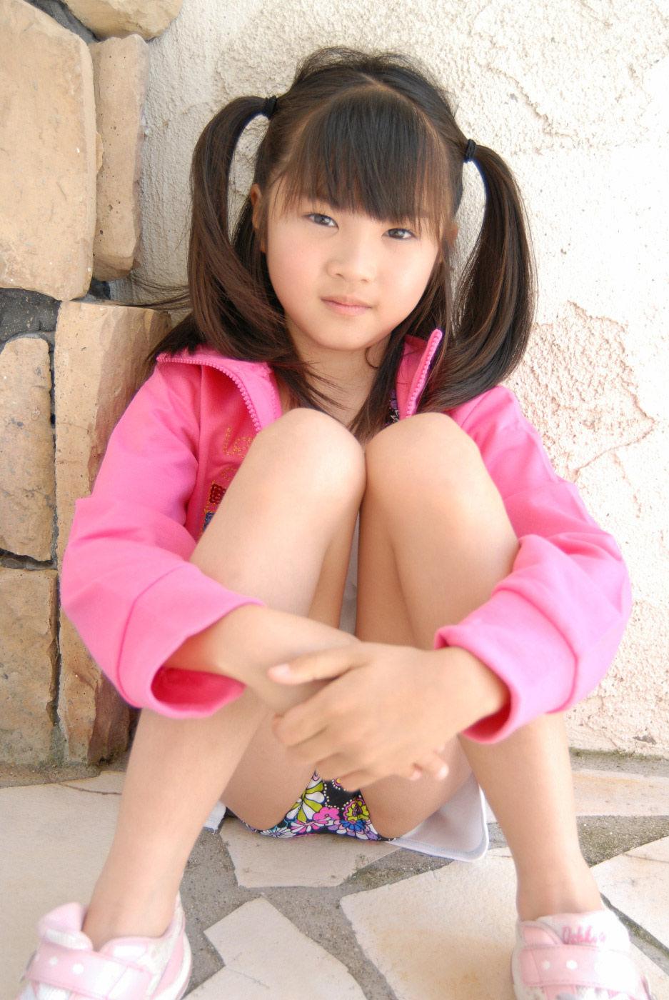 日本当今最年幼的写真模特――三浦璃那