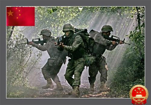 到威胁的时候,中国军人又义无反顾地冲在了最前面,抗洪抢险、抗图片