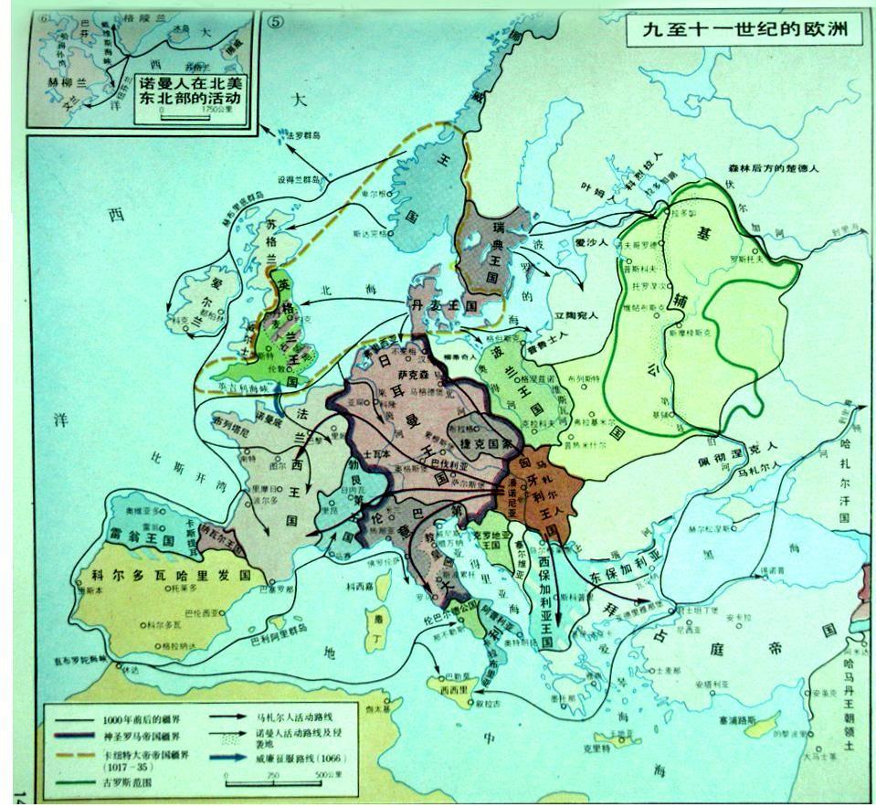 欧洲历史地图(图甚多,插楼必删)图片