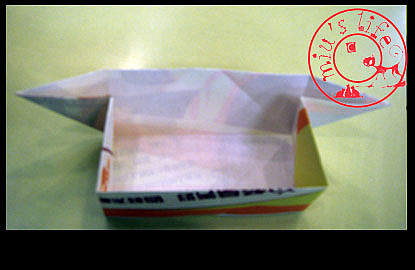 简单的折纸盒的方法