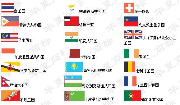 世界各国国旗和国家名称 caogaoshan521 我的博客高清图片