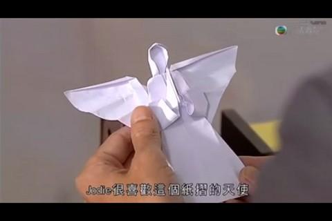 折纸天使 折纸 天使视频图片