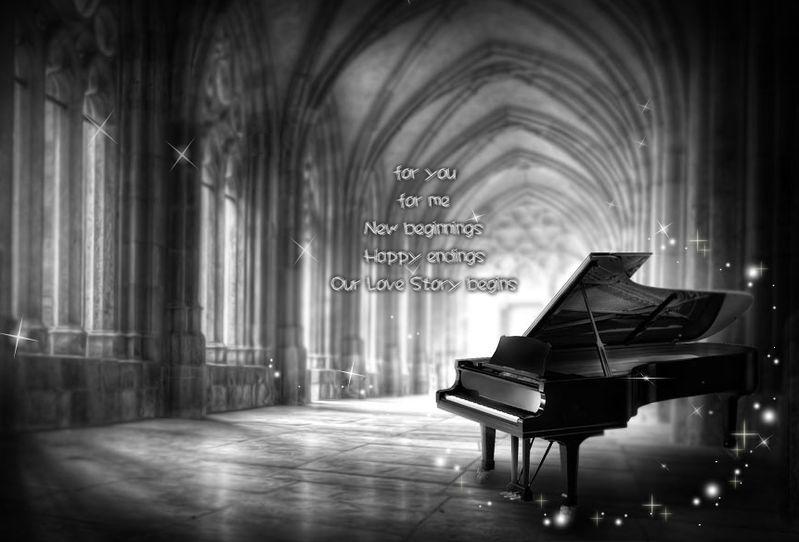 琴声如心声,它诠释着弹奏者内心的波澜起伏和心路历程; 琴声如泉水图片